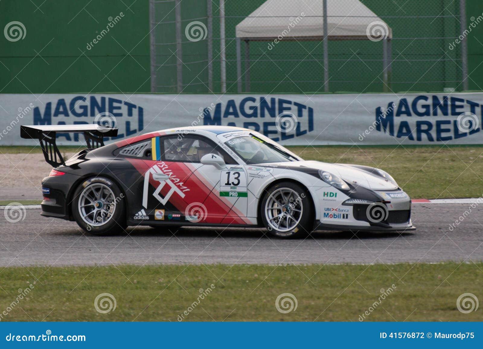 Porsche 911 Gt3 Cup Race Car Editorial Photography Image Of
