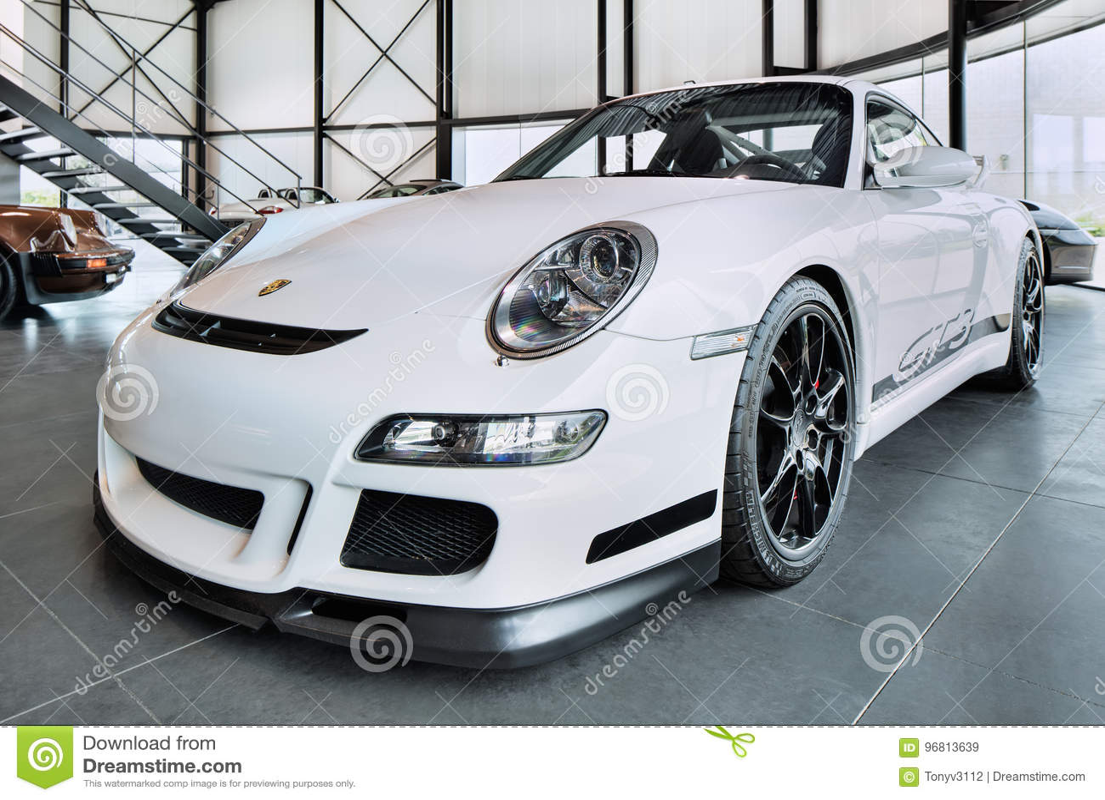Porsche 911 Gt3 Street Legal Race Car Popular For Track Days On