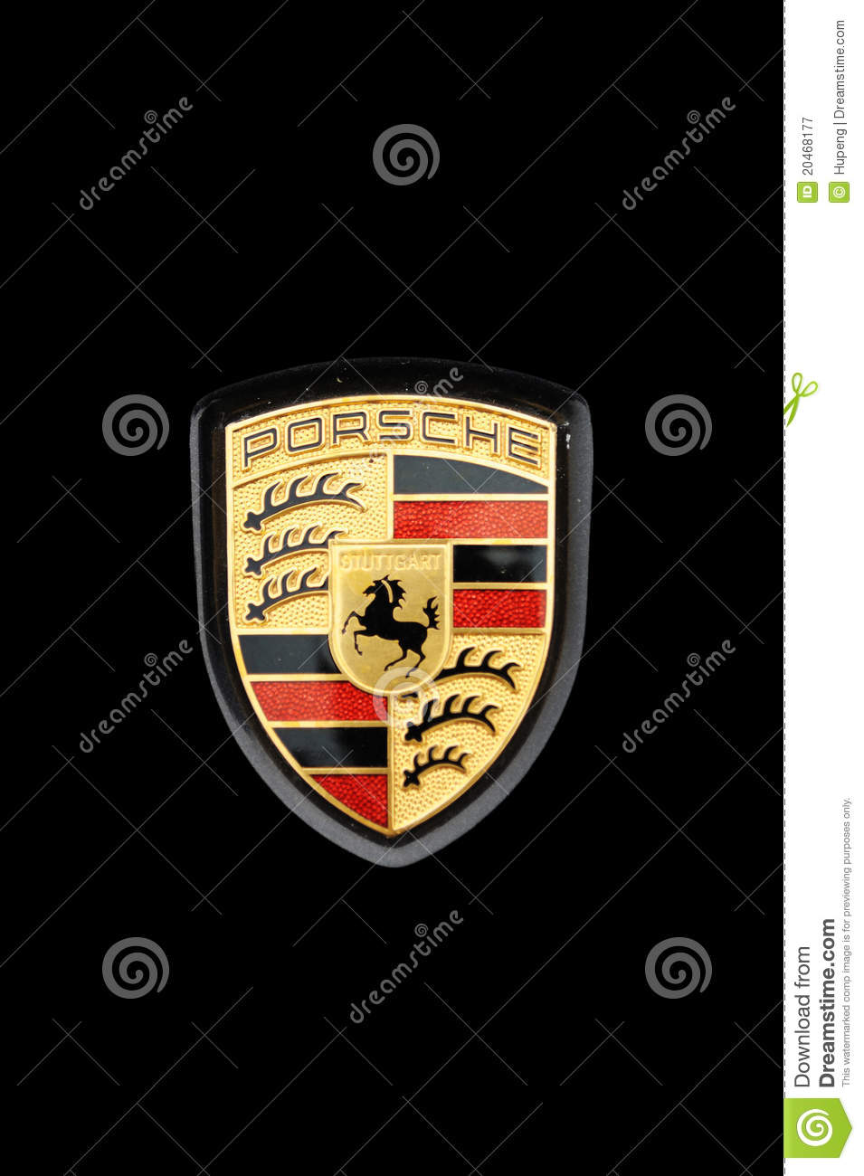 porsche logo editorial photography image 20468177