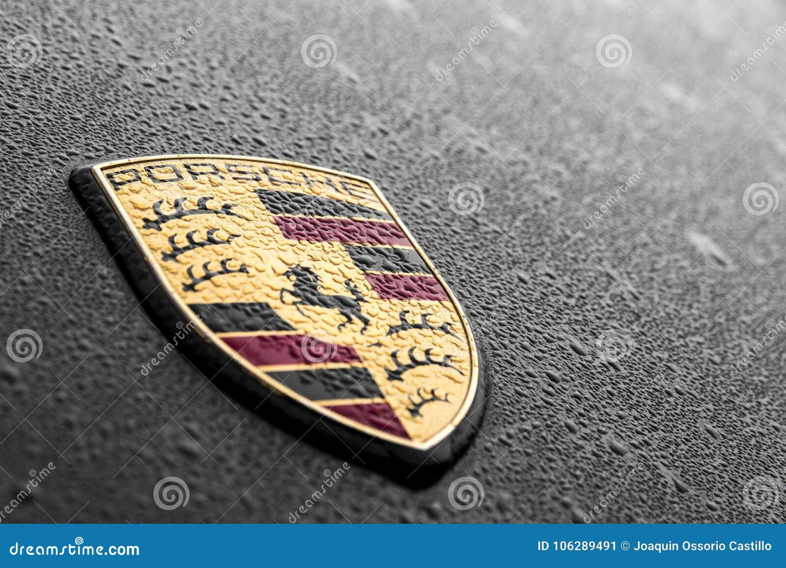 Porsche Logo Editorial Photo Image Of Automotive Europe 106289491