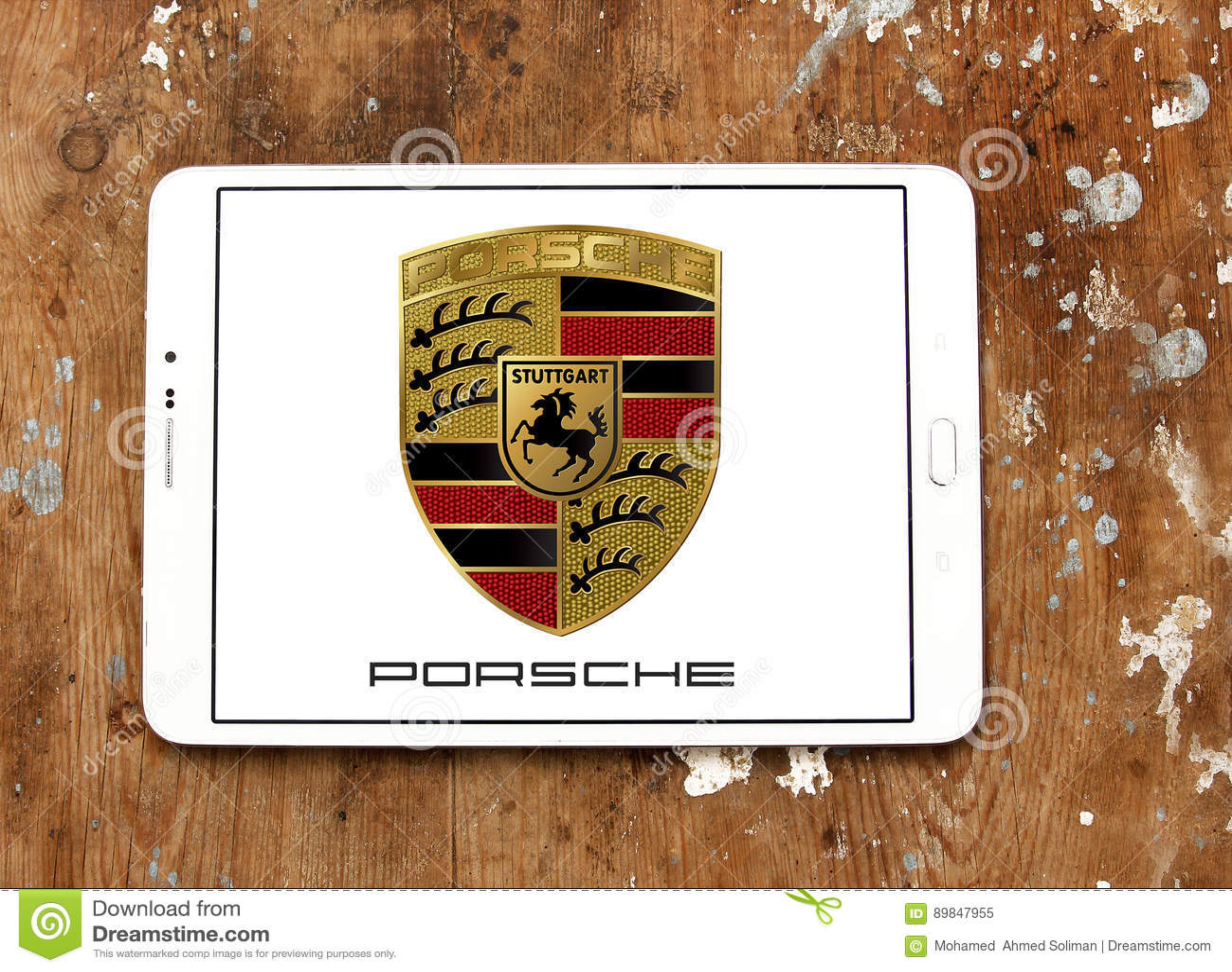 Porsche Logo Editorial Image Image Of Buses Producer 89847955