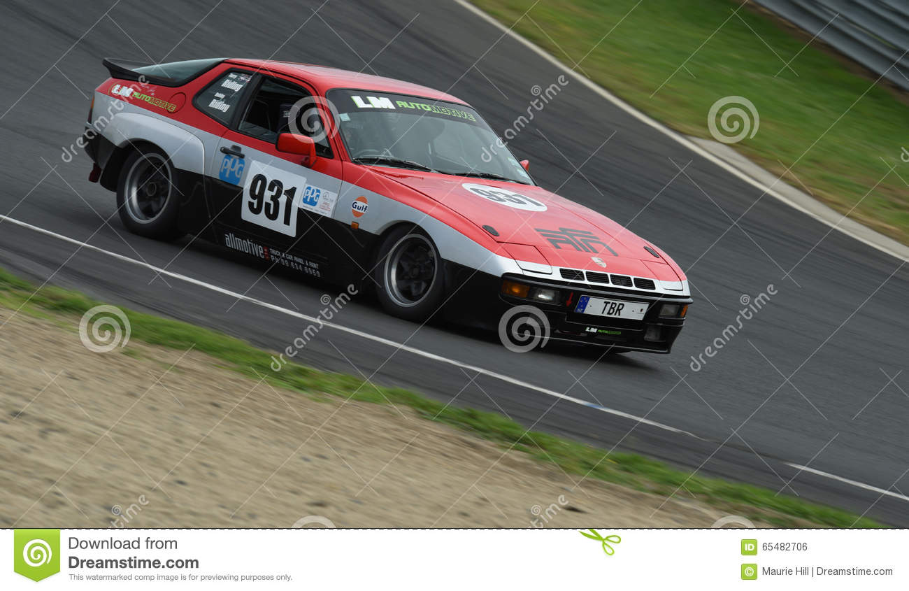 Porsche 924 Race Car Editorial Photo Image Of Festival