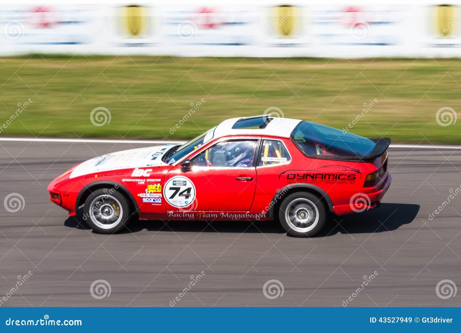 Porsche 924 Racing Car Editorial Stock Image Image 43527949
