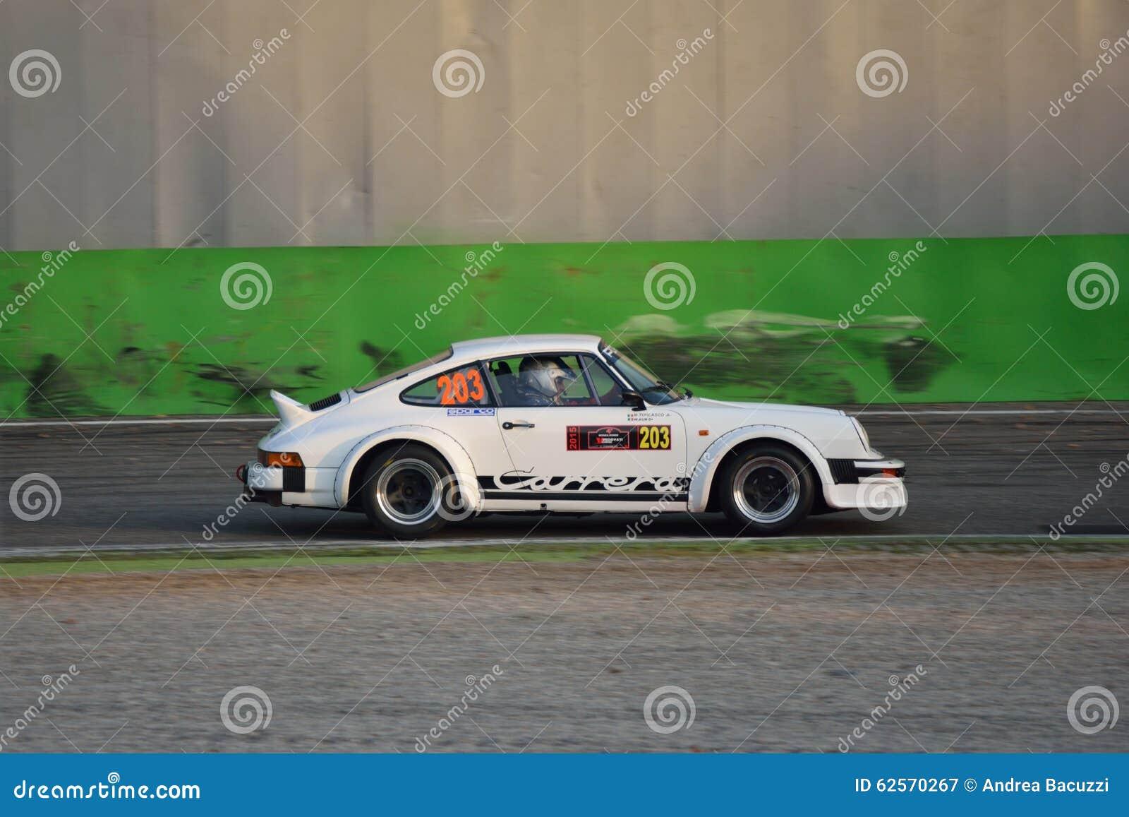 Porsche 911 Sc Rs Rally Car At Monza Editorial Photography Image