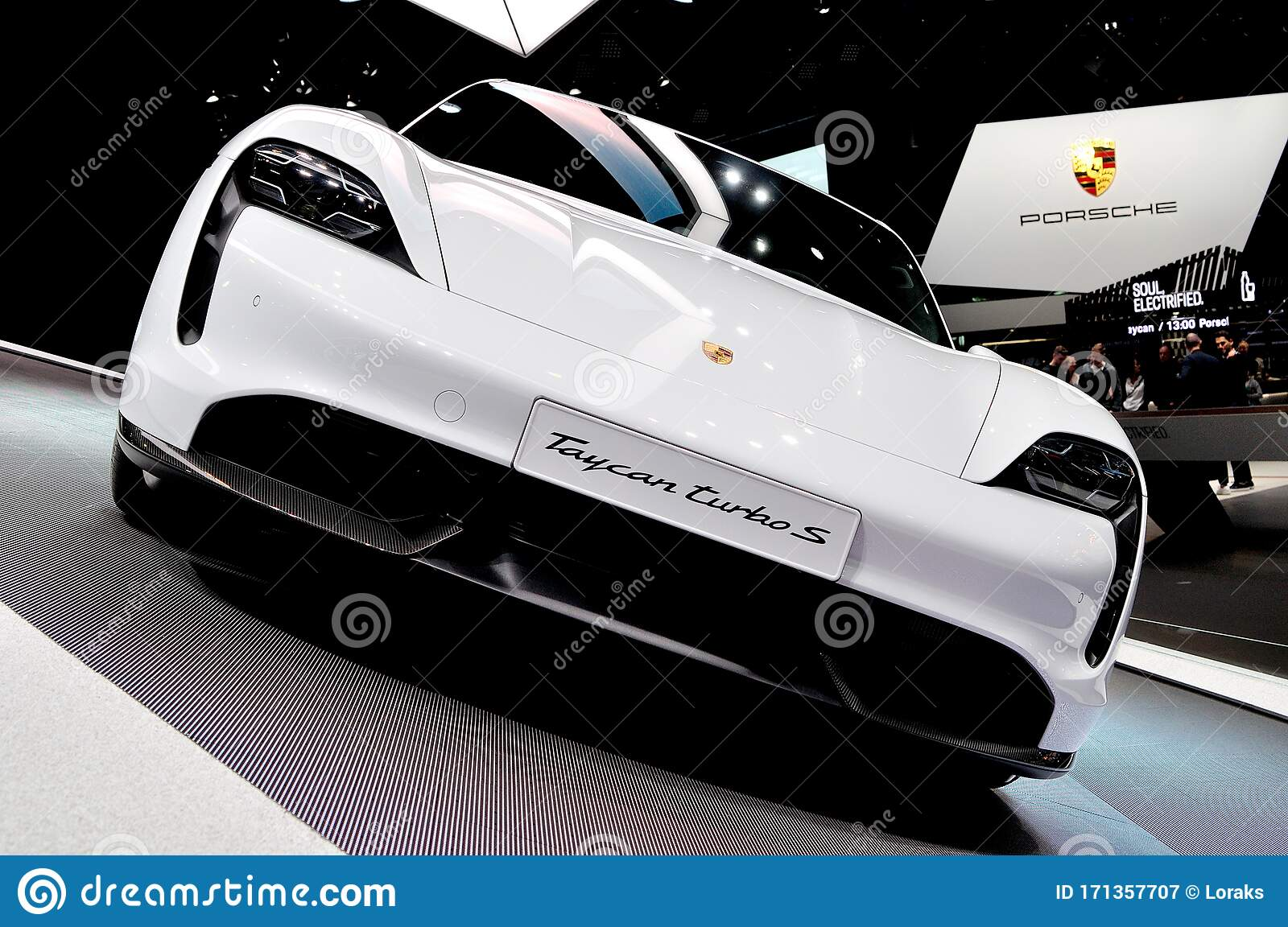 Porsche Taycan Turbo S Electric Car Editorial Photography Image Of Automotive Hybrid 171357707