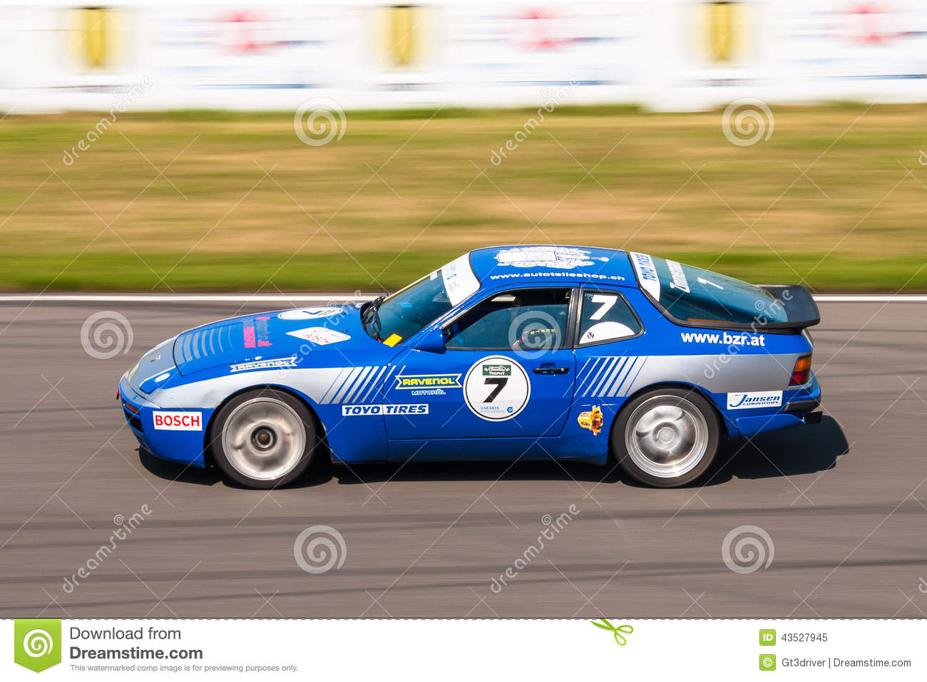 Porsche 944 Turbo Cup Race Car Editorial Image Image Of Corolla Ford 43527945