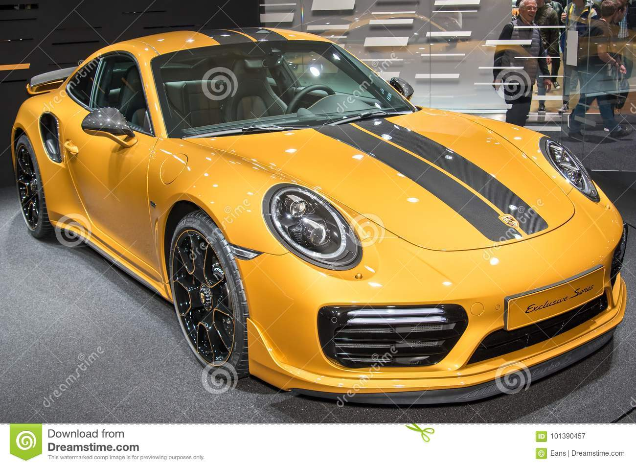 Porsche 911 Turbo S Exclusive Series Editorial Photography Image Of Automobile Frankfurt 101390457