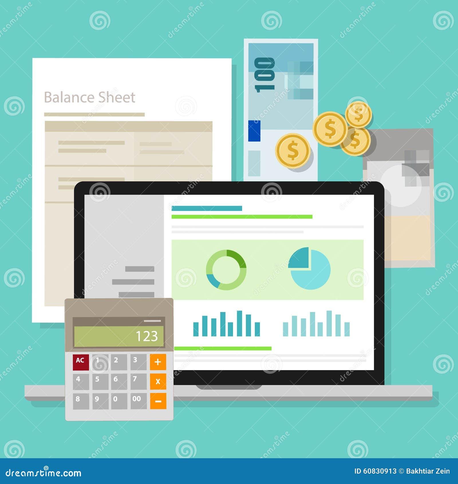 Portátil da aplicação da calculadora do dinheiro do balanço do software de contabilidade