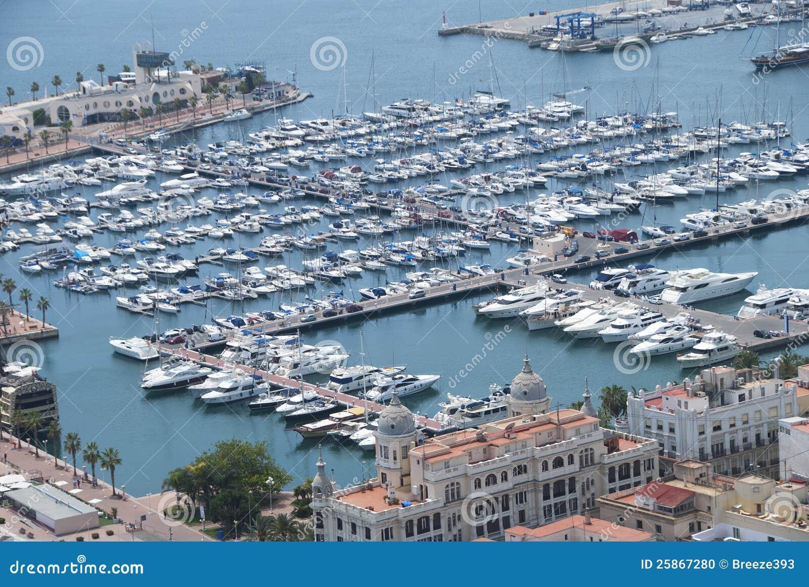 Port alicante espagne photo stock image du espagne - Impression photo gratuite sans frais de port ...