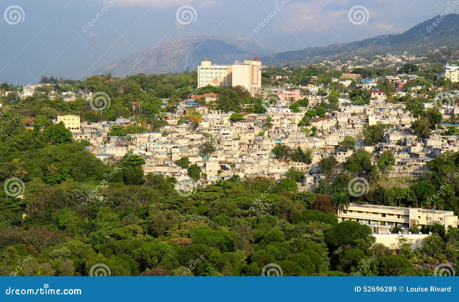 Port-au-Prince trochę domy