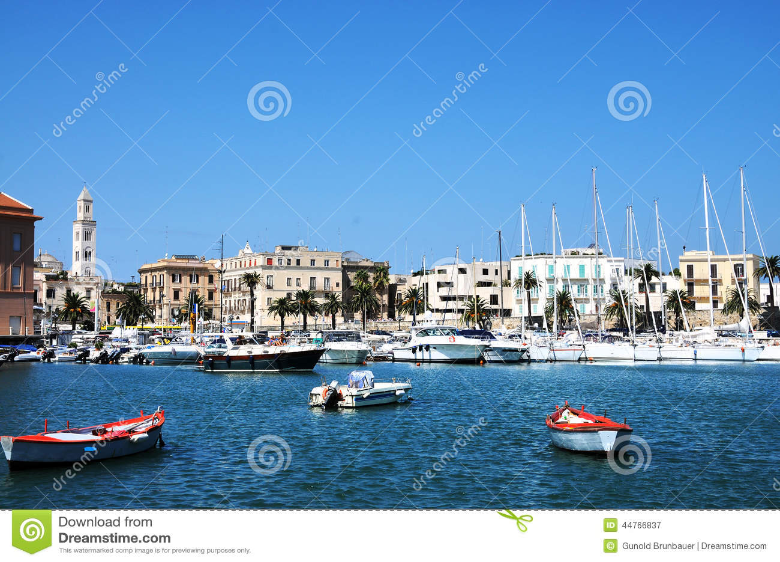 Port in Bari