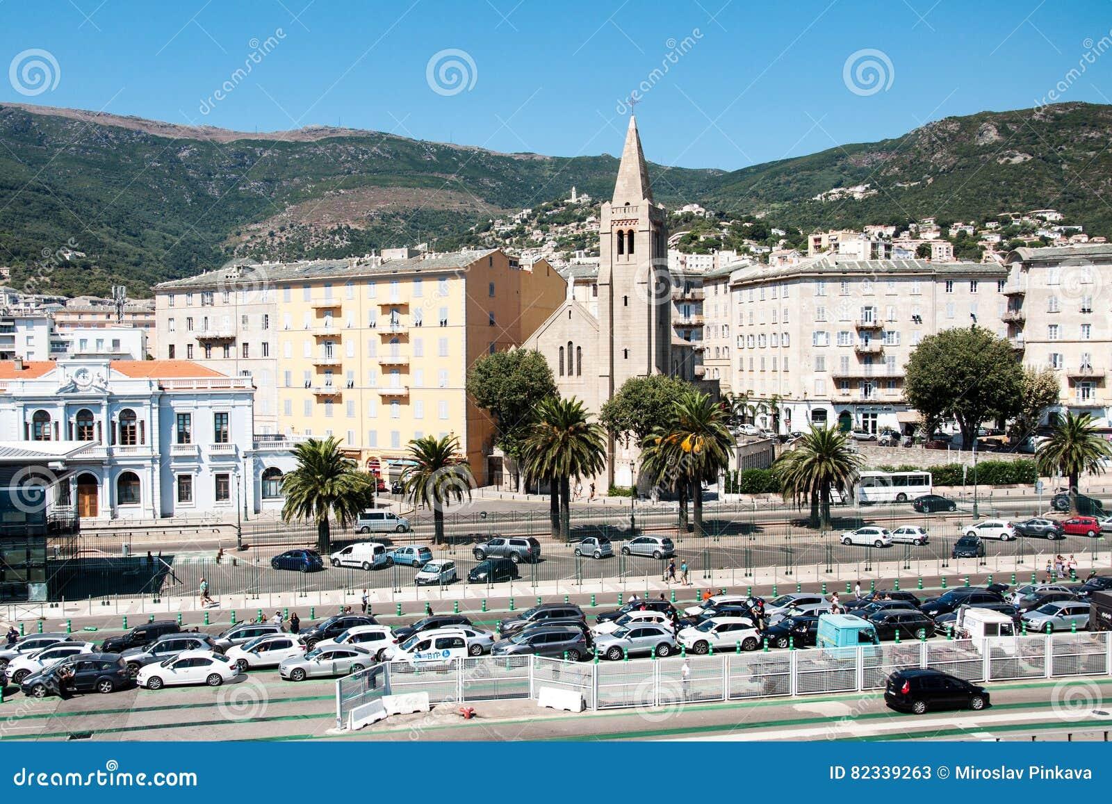 Port Of Bastia Corsika Editorial Stock Photo Image Of Dock 82339263