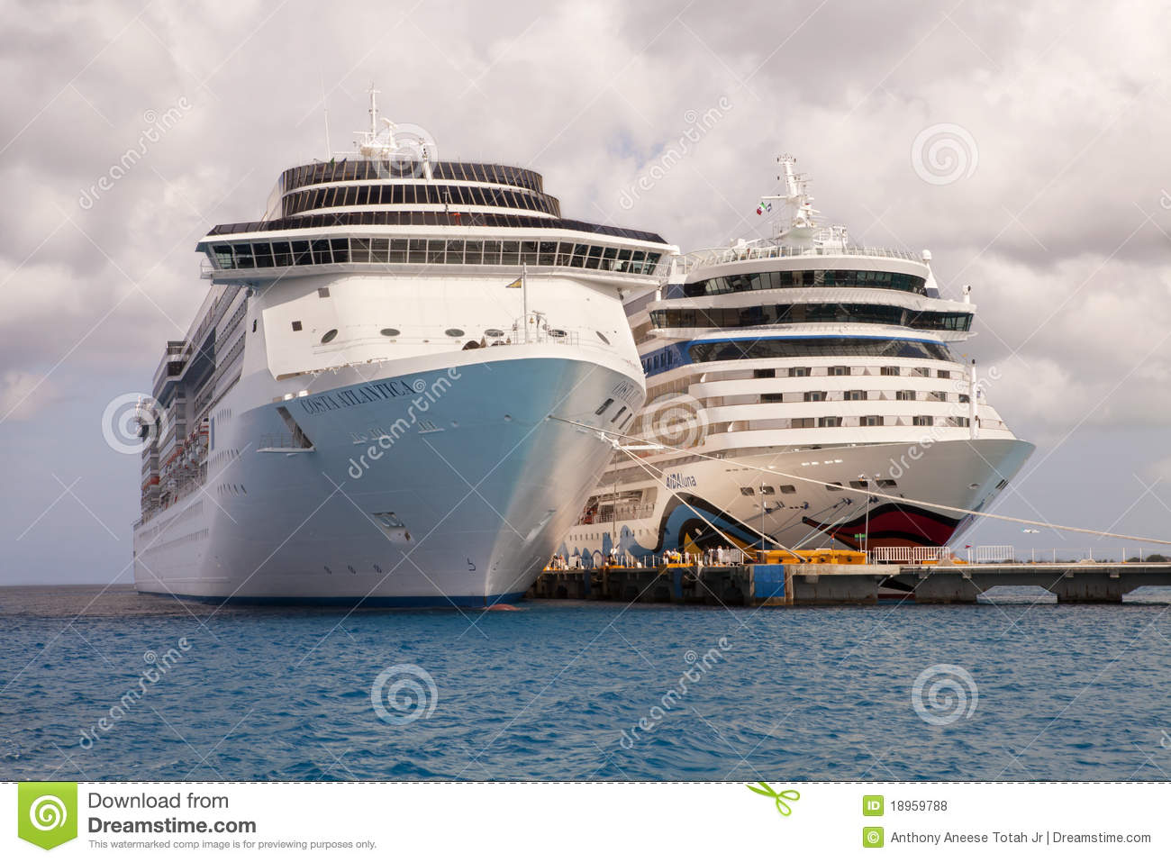 Port Of Call  Cozumel Mexico Editorial Stock Photo