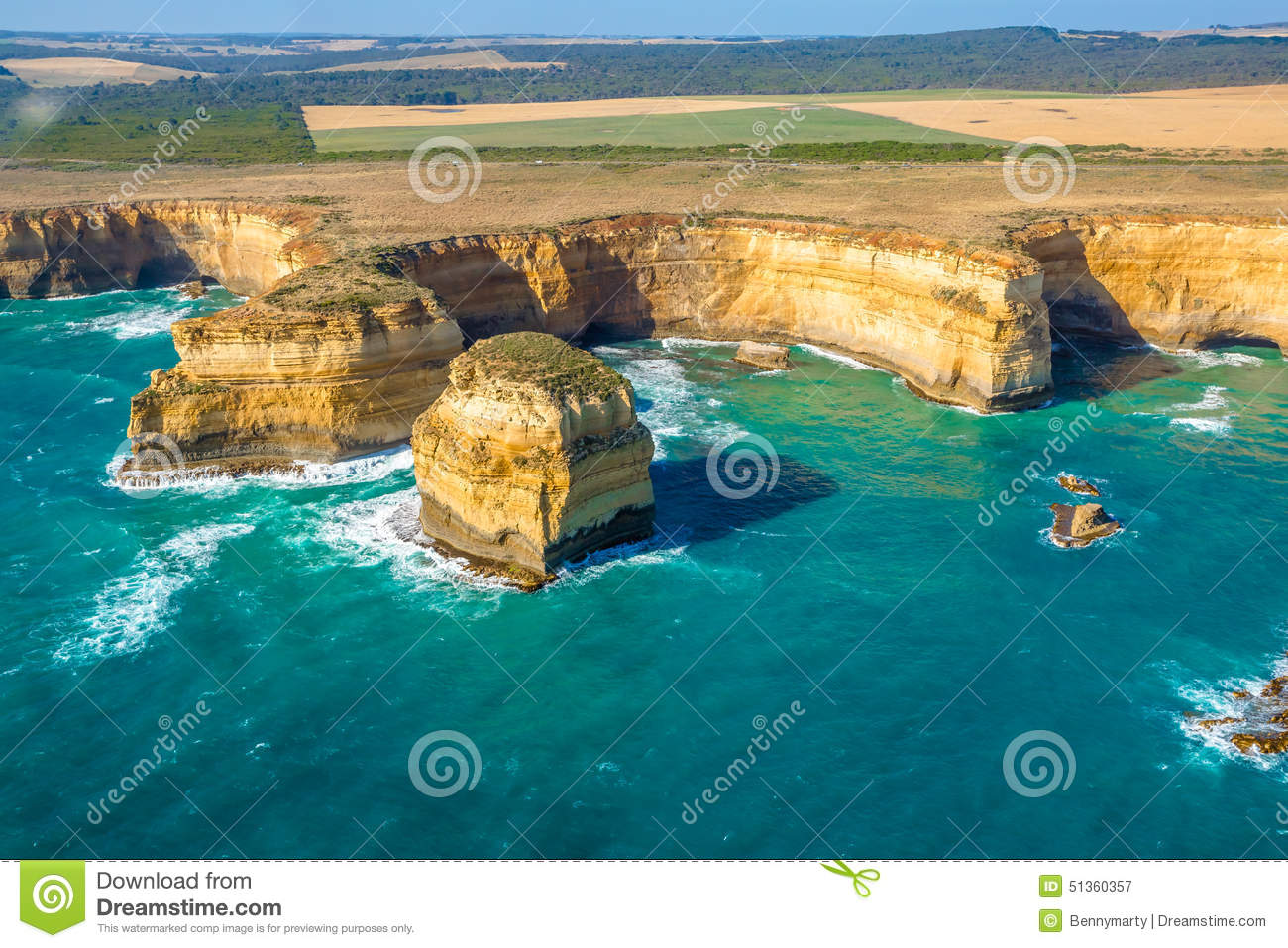Port Campbell National Park Victoria Australia Stock Photo