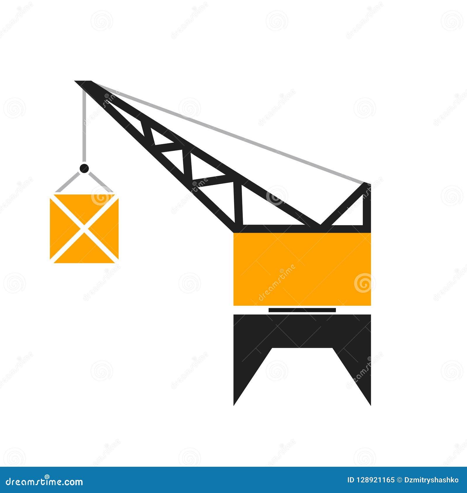 Port crane glyph