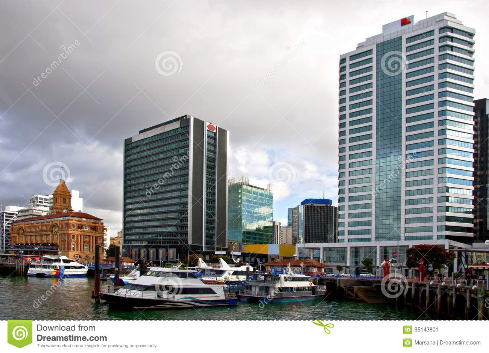 Port d Auckland