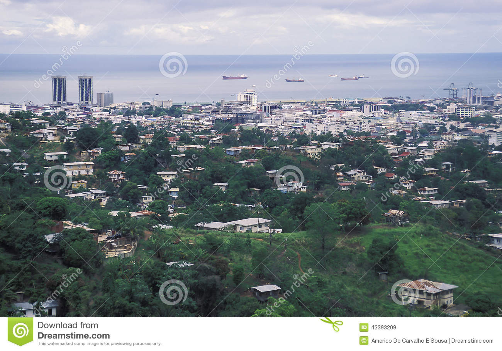 Port-d Espagne, Trinidad