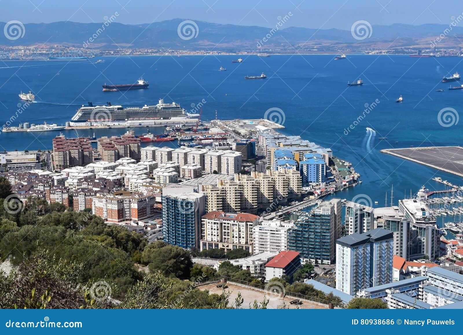 Port de croisière du Gibraltar