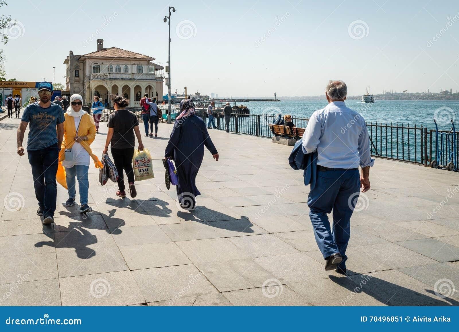 Port de Kadikoy à Istanbul, Turquie
