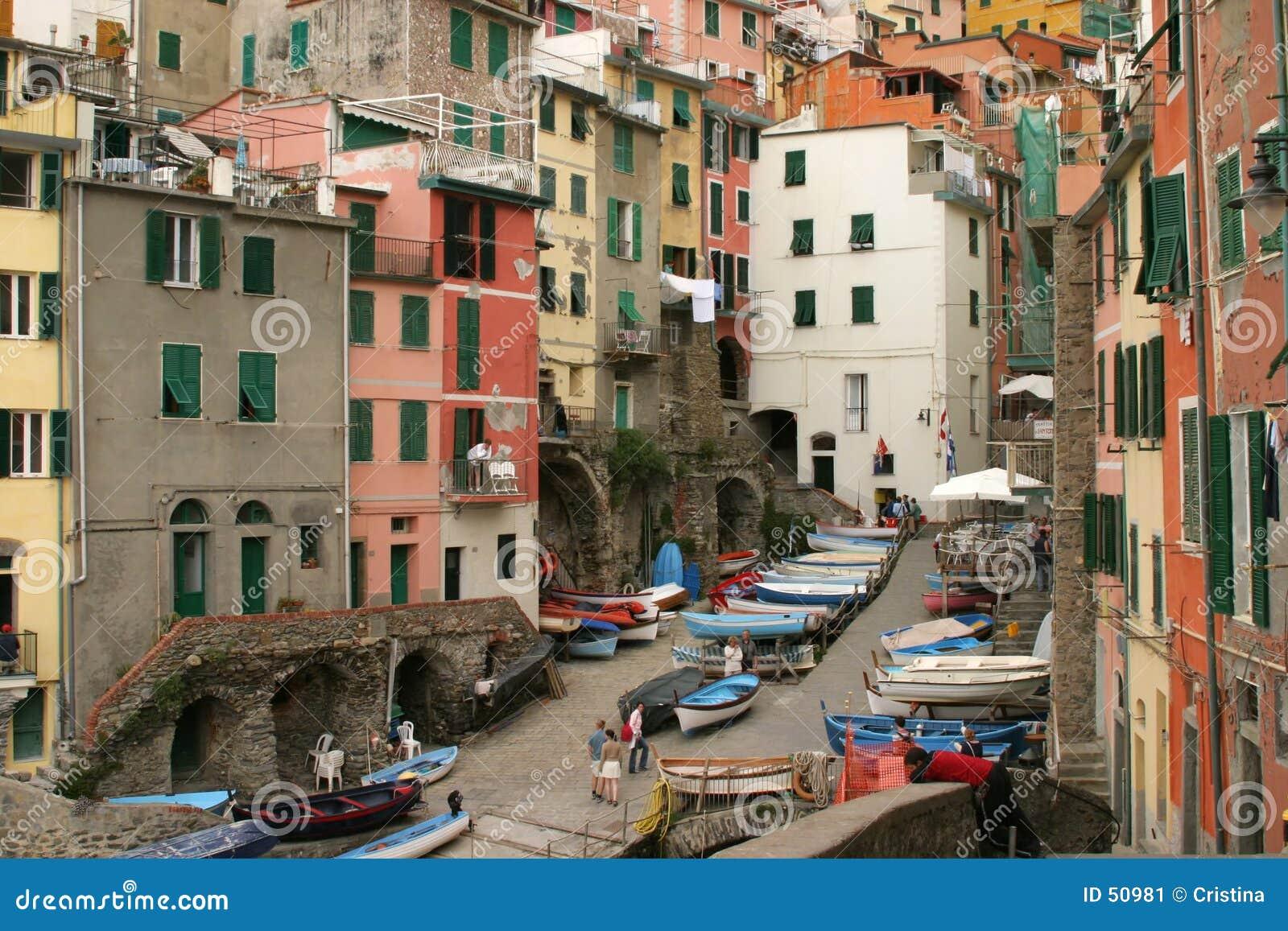 Download Port de Rio Maggiore image stock. Image du port, couleur - 50981