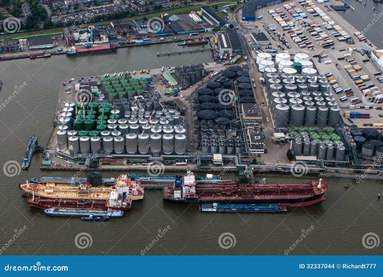 port de rotterdam image stock 233 ditorial image 32337044