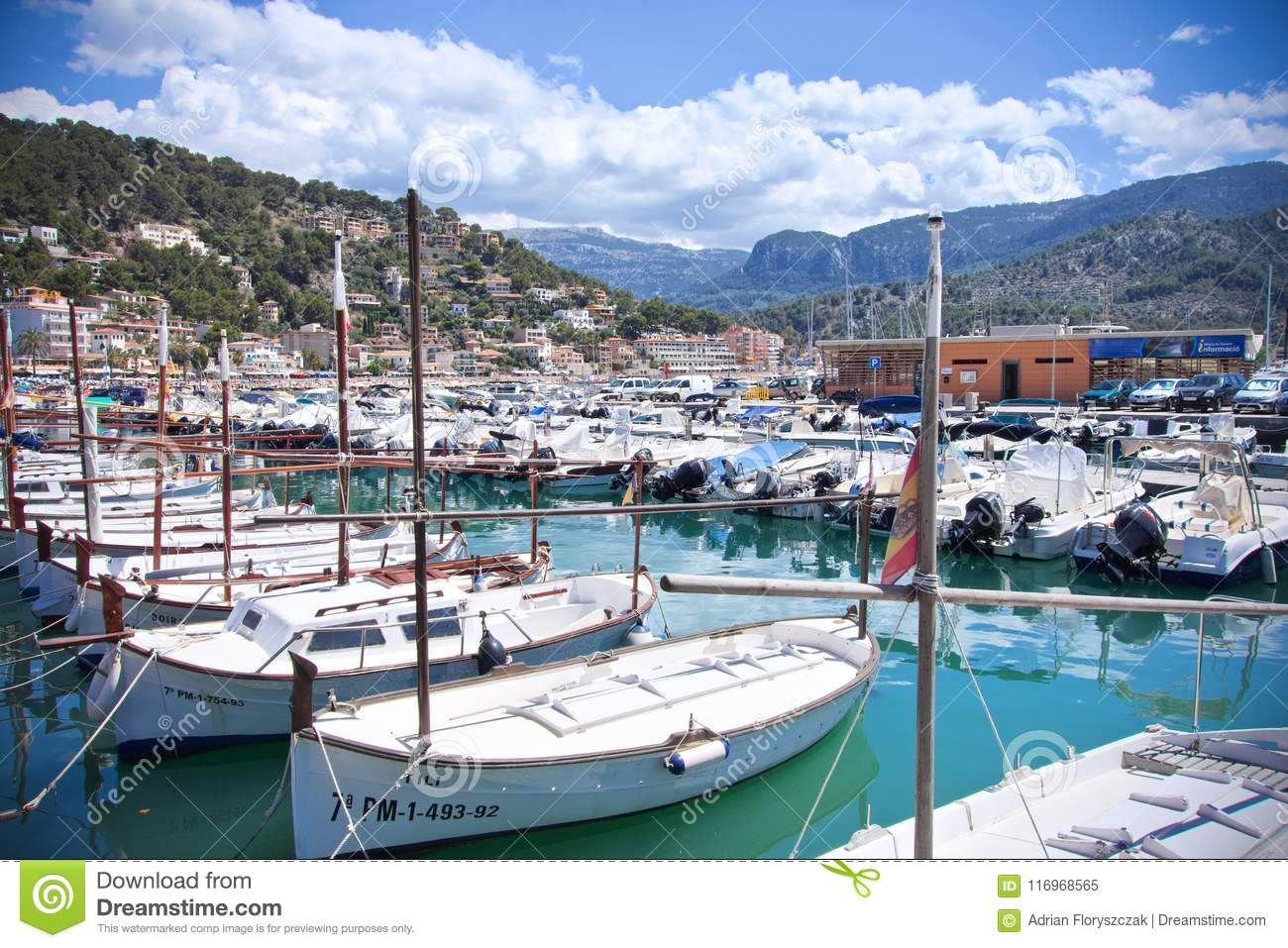 953a08236 Boats On The Dock In Port De Soller