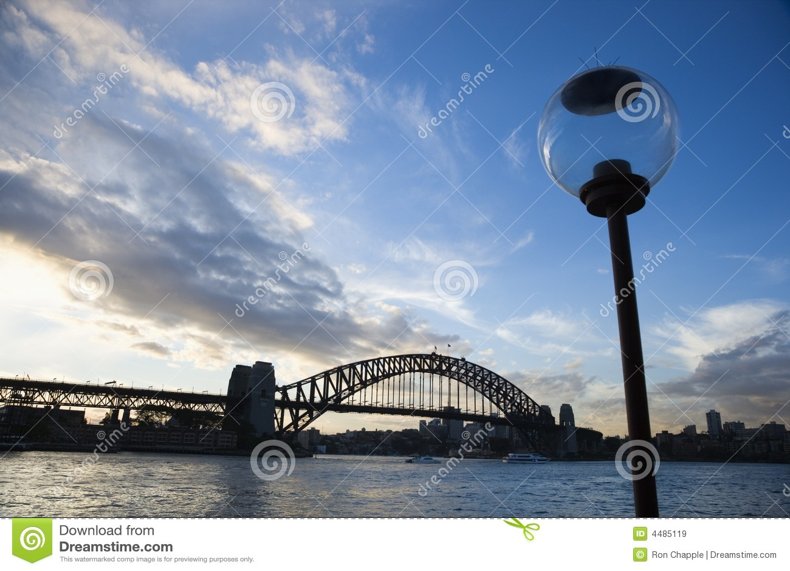 Port de Sydney.