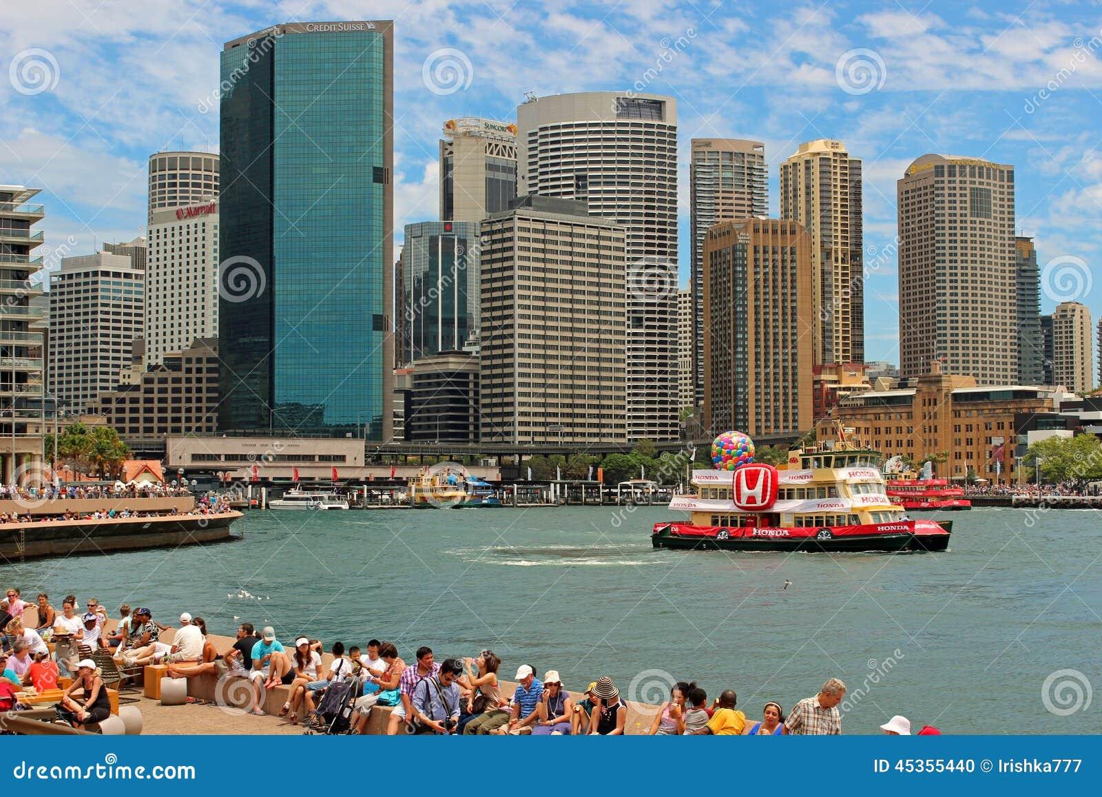 Port de Sydney, Australie