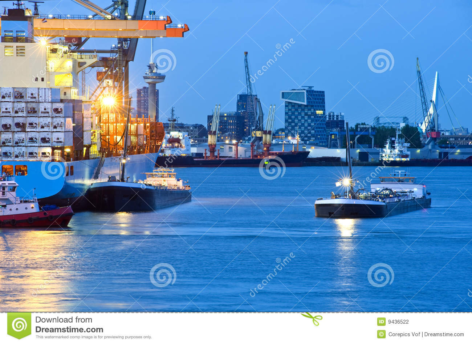 Port de ville