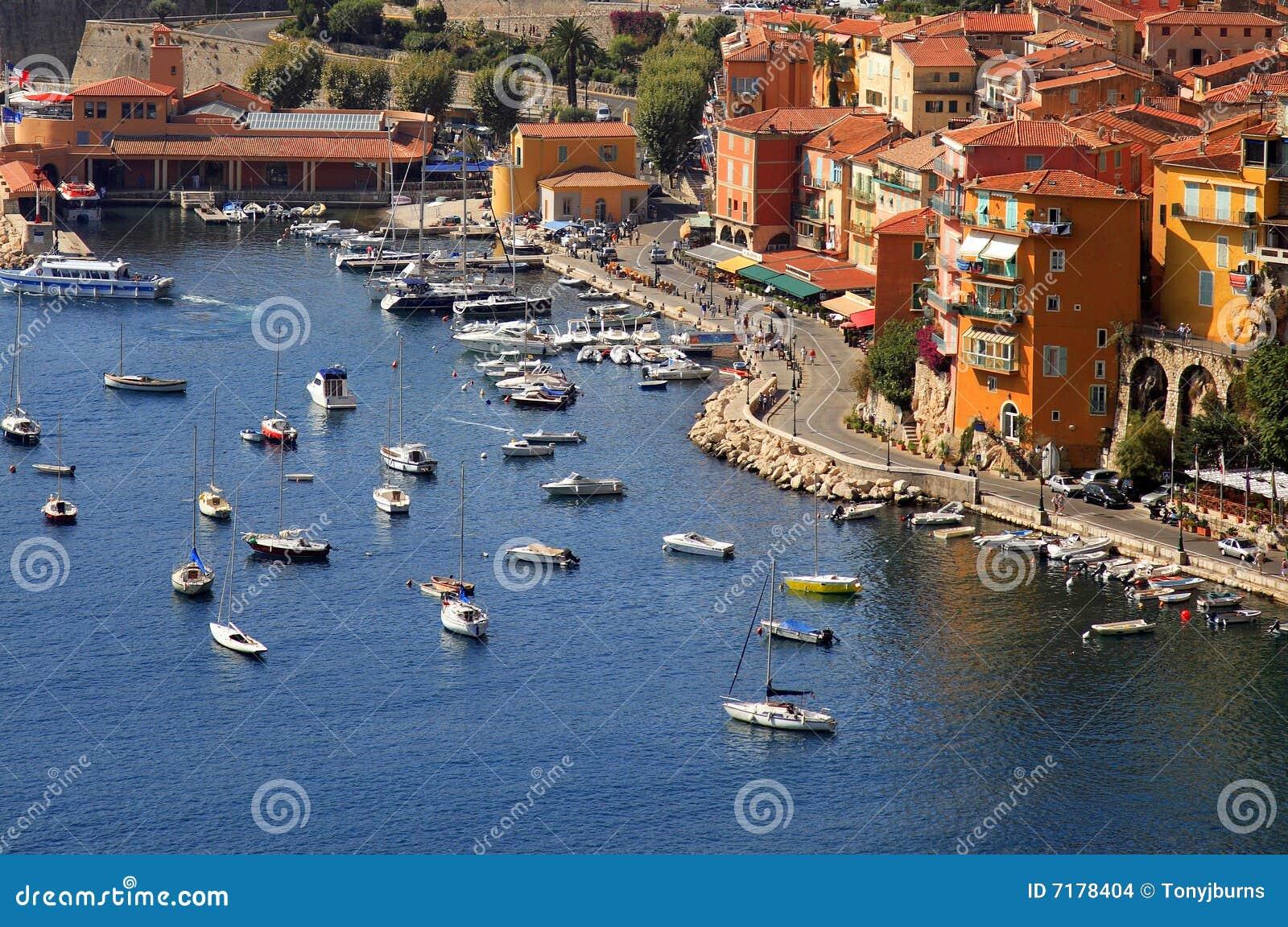 port de villefranche sur mer cote d azur o du sud photo