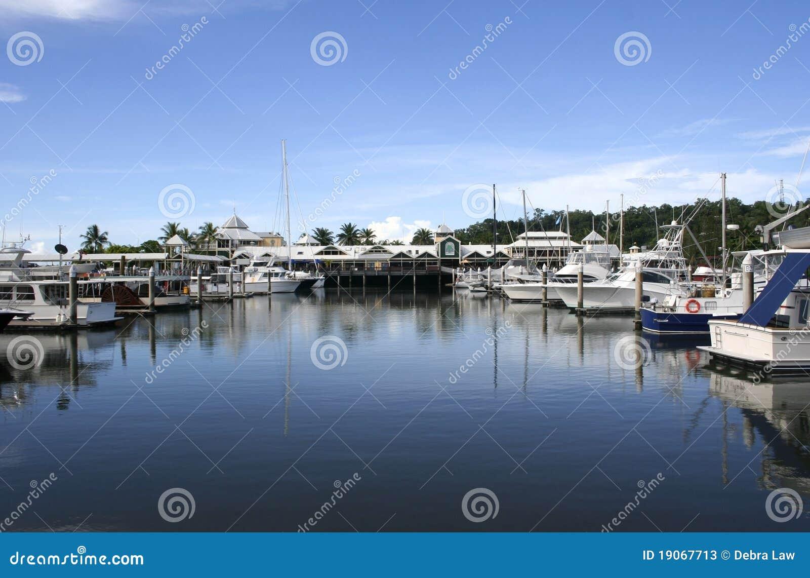 Port- Douglasjachthafen, Queensland, Australien