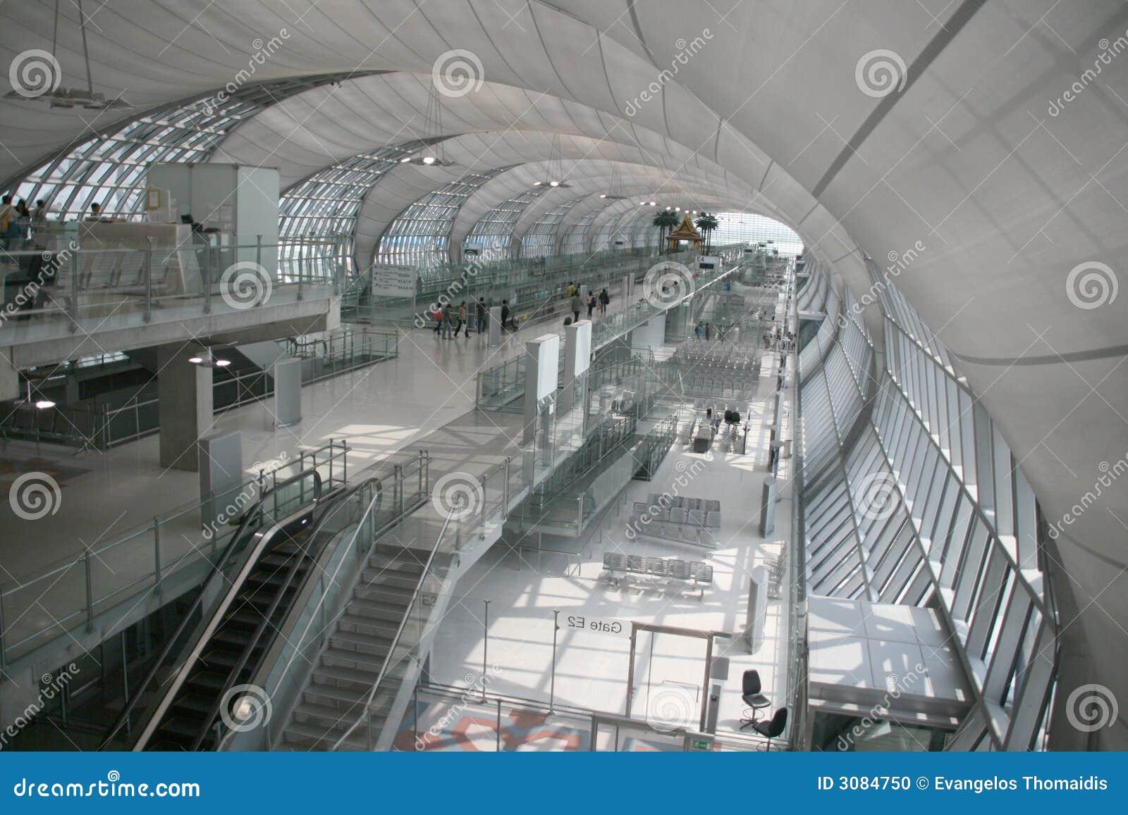 Port för flygplatsbangkok avvikelse