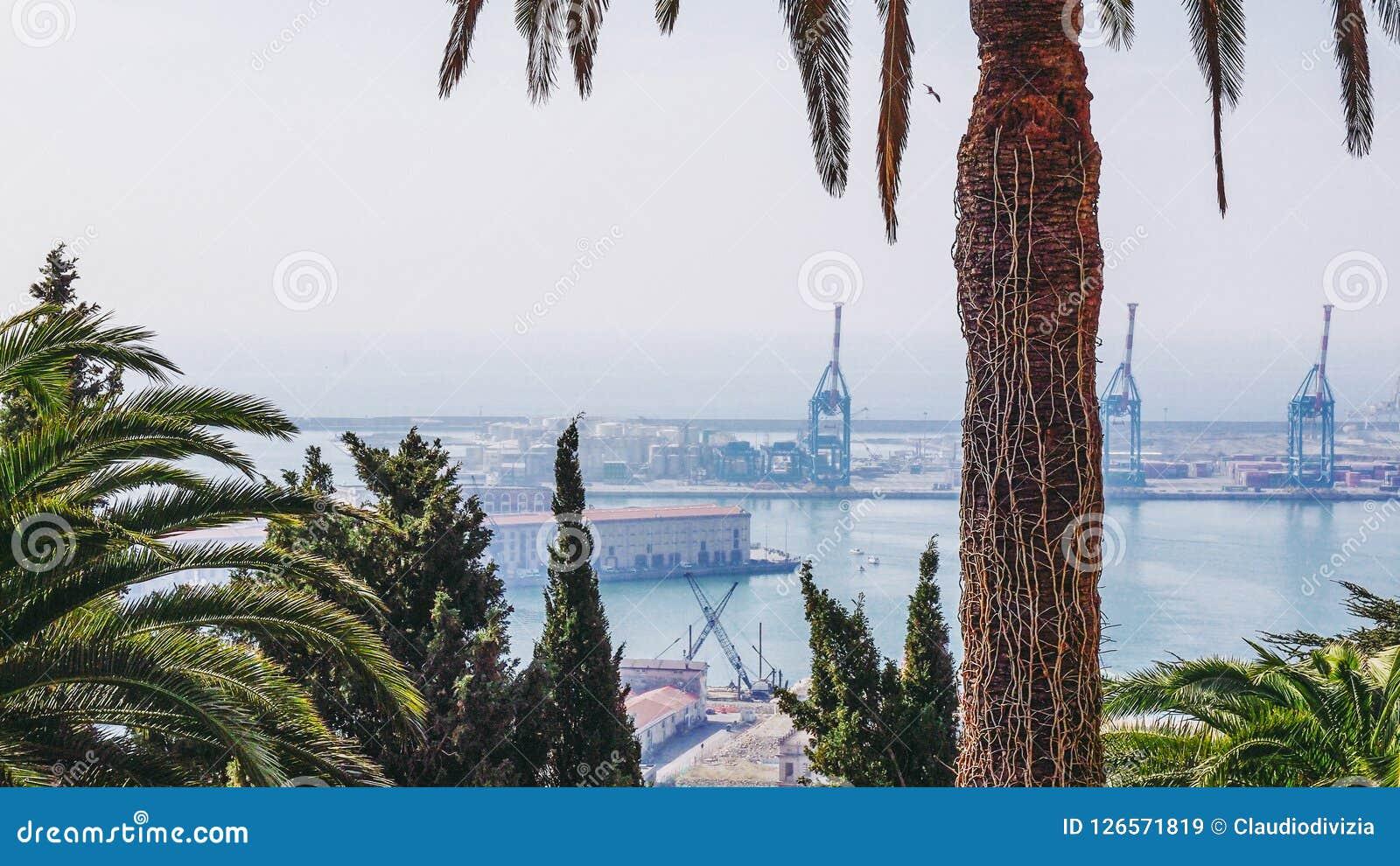 Port Genoa Italy