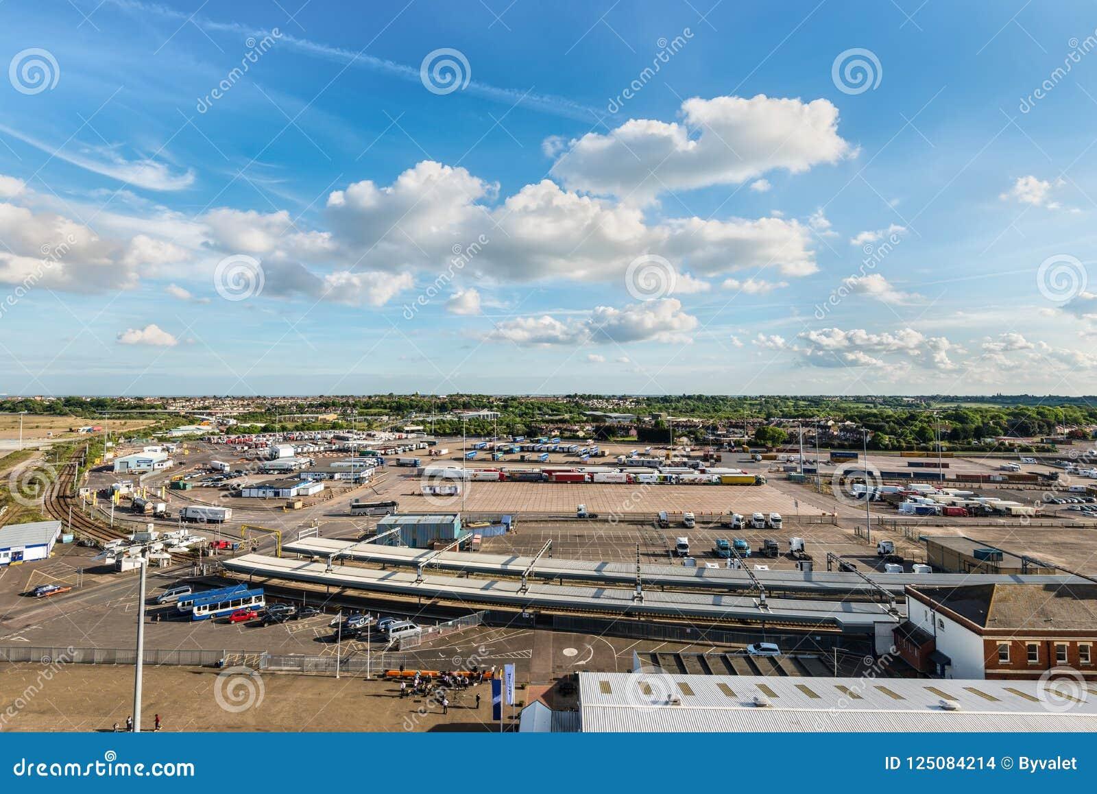 Port Harwich, Essex, Anglia, Zjednoczone Królestwo