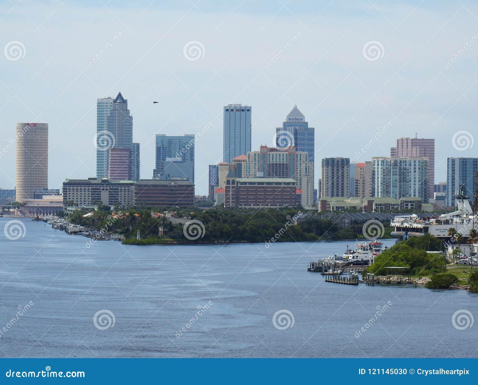 Port horizon de Tampa, la Floride, Tampa