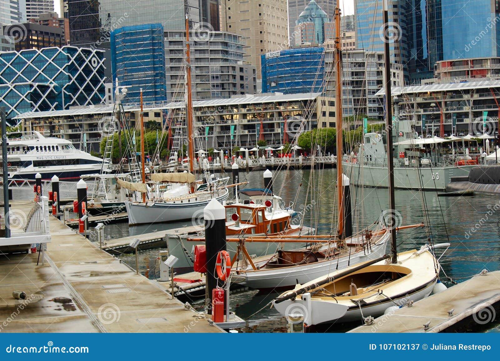 Port Jackson Harbour Sydney Australia