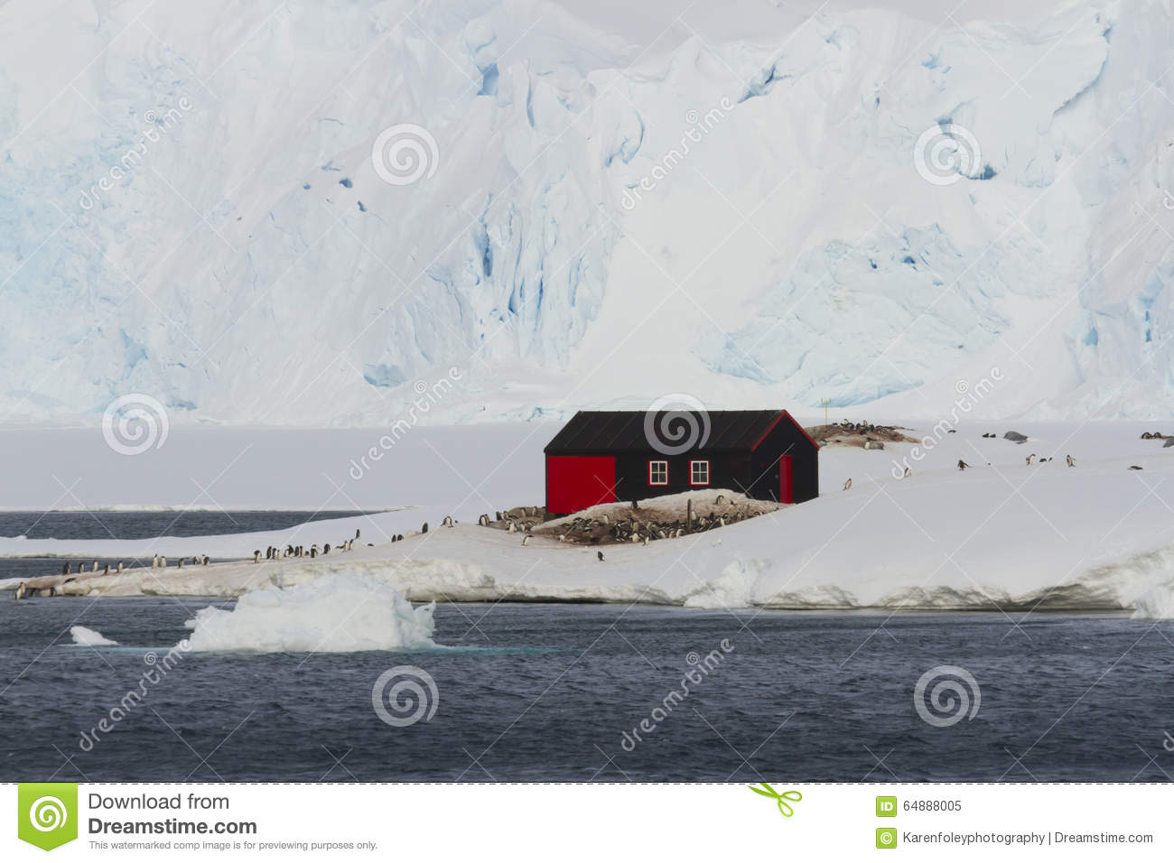 Download Port Lockroy, Base A, Heritage Site Antarctica Stock Image - Image of expedition, heritage: 64888005