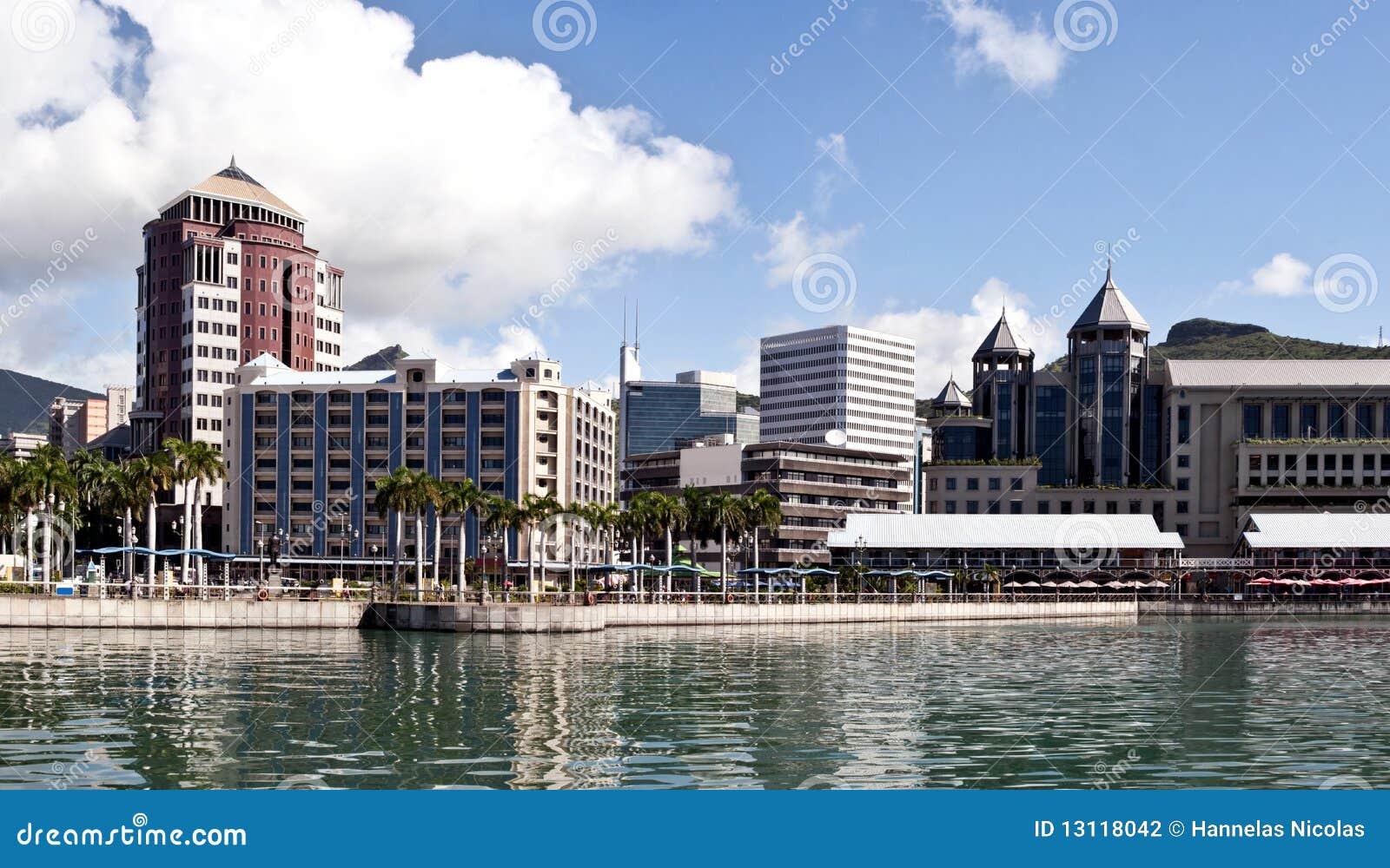 Port louis waterfront mauritius stock photography image 13118042 - Restaurant port louis ile maurice ...