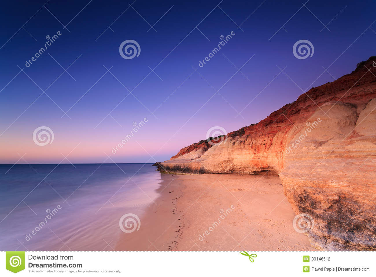 Port Noarlunga Australia  city images : Port Noarlunga cliffs at twilight Port Noarlunga, South Australia ...
