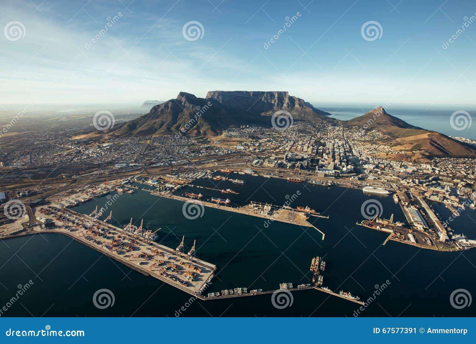 Port przylądka miasteczko