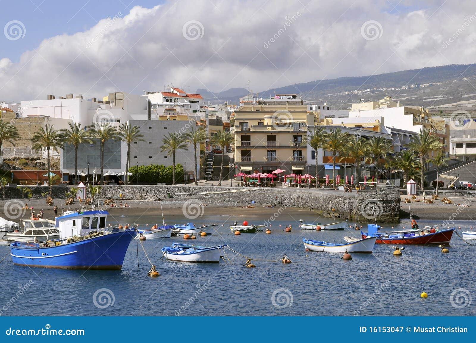 Port of San Juan at tenerife