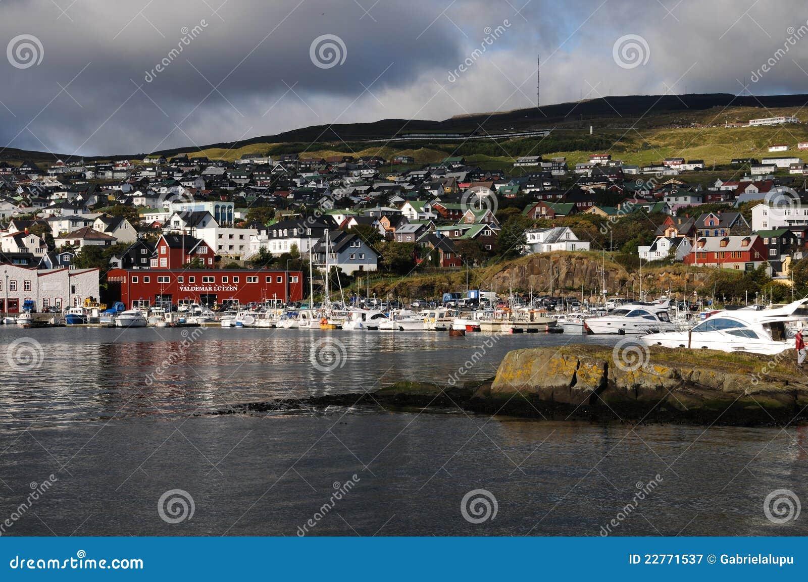 Port of torshavn