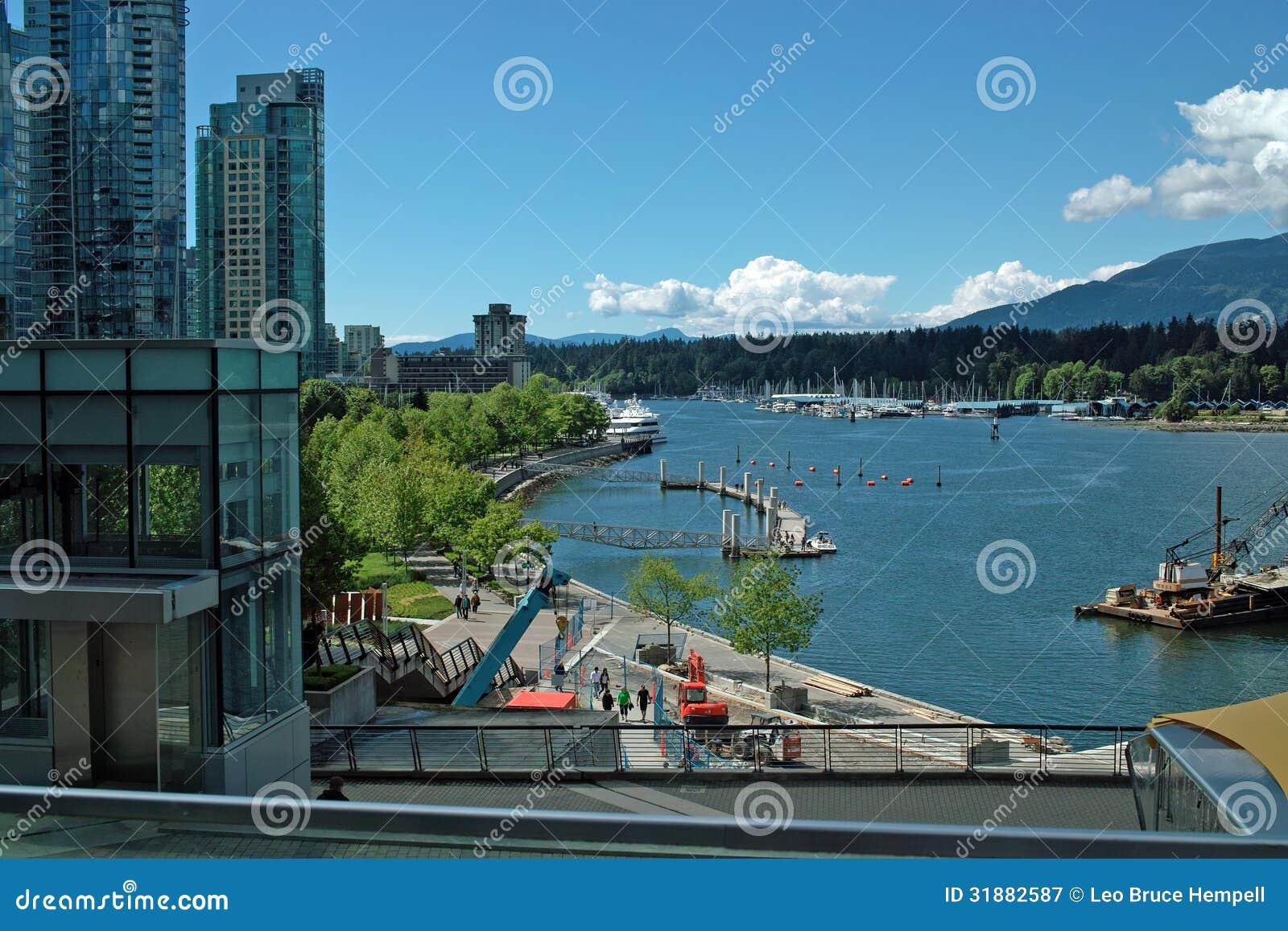 Port Vancouver BC Kanada
