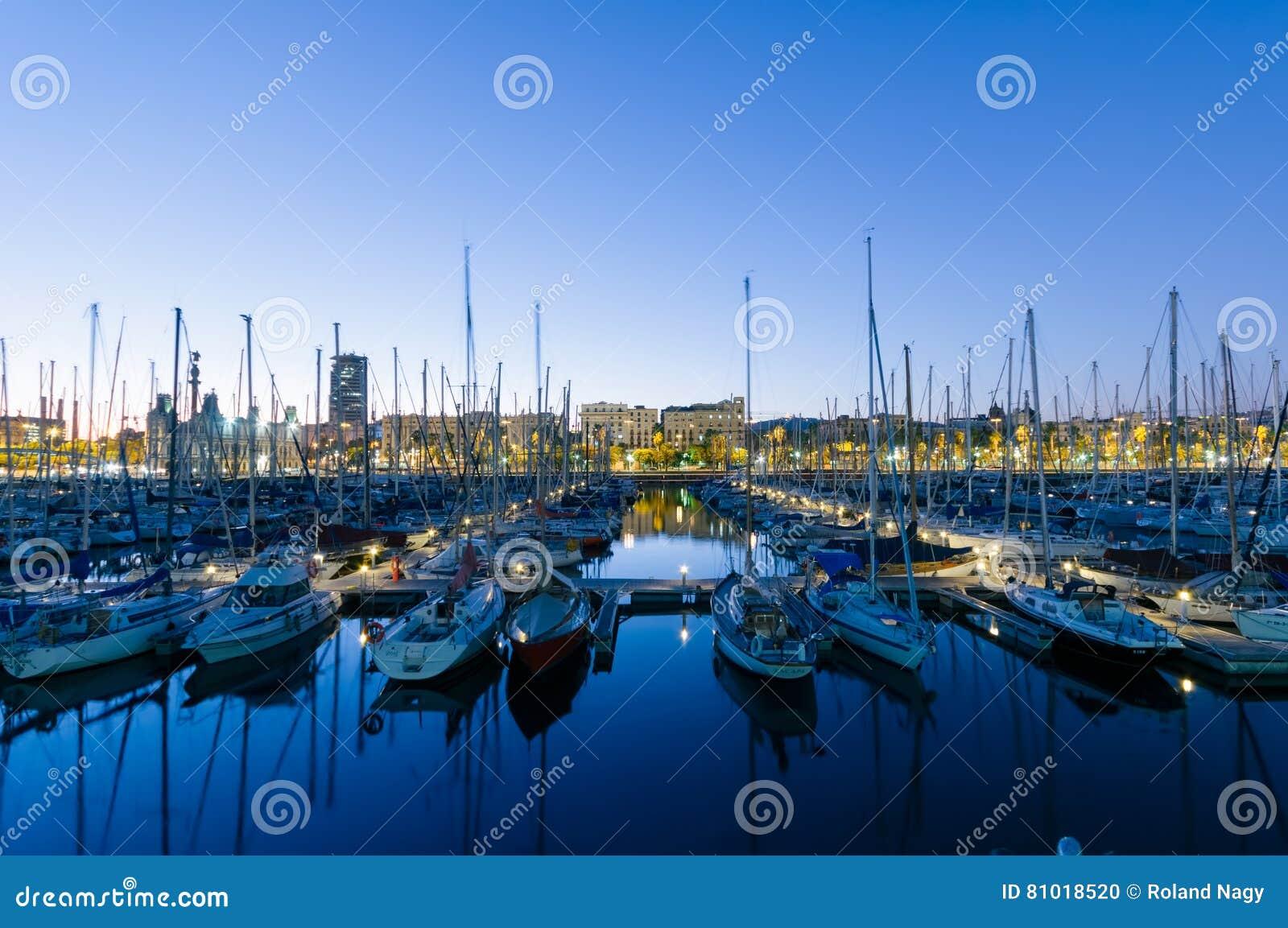 Port Vell, Barcelona.