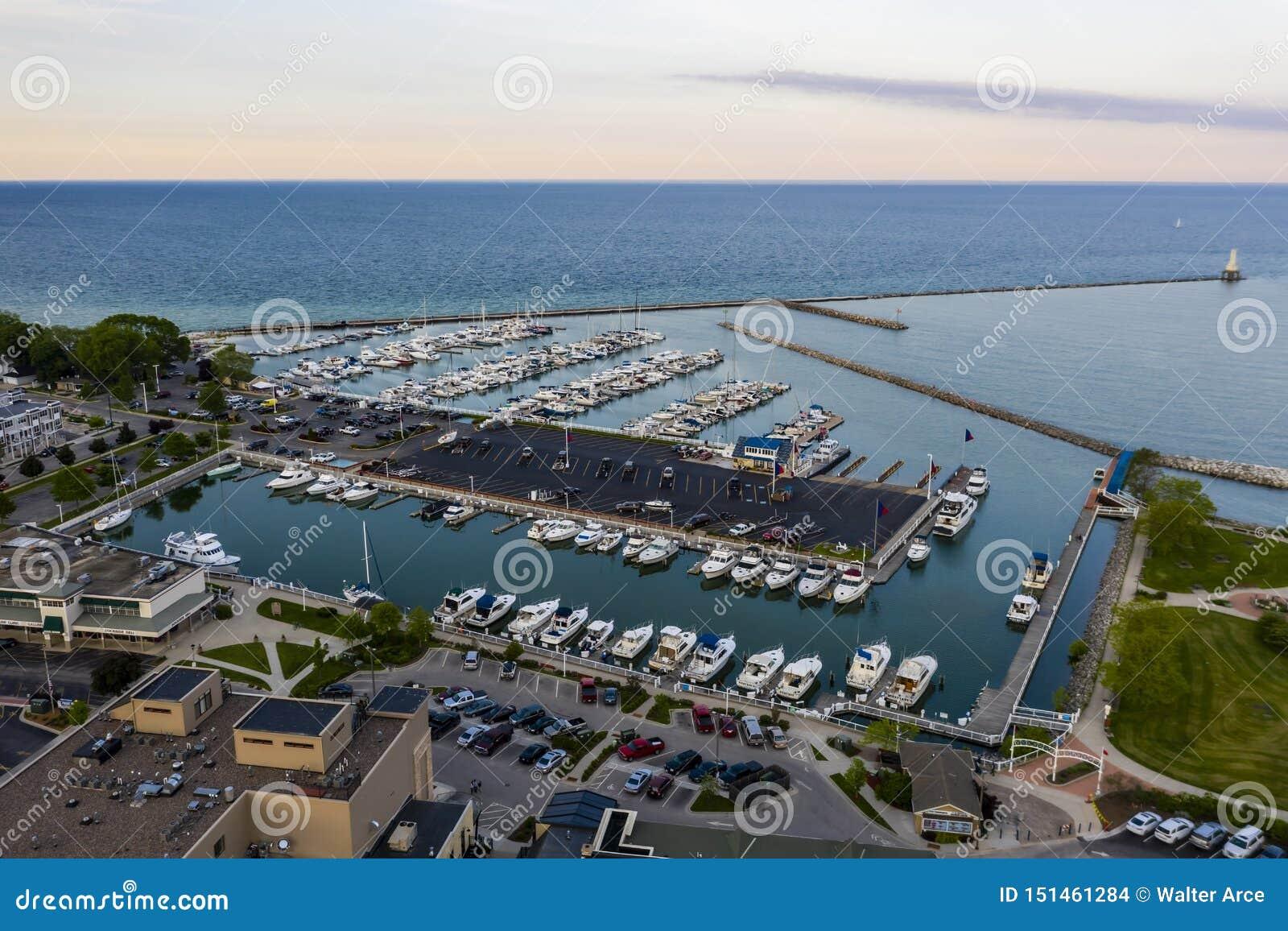 Port Washington hermoso, Wisconsin