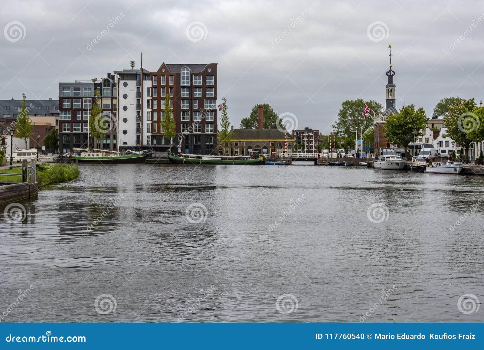 Port wchodzić do holandie Holandia Alkmaar