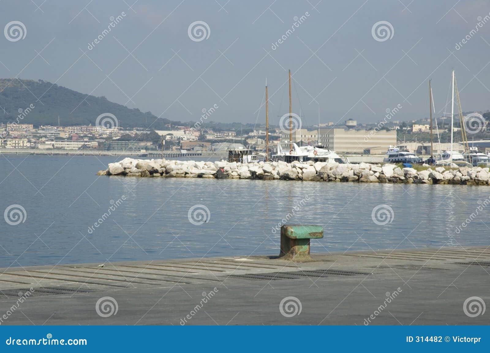 Port widok