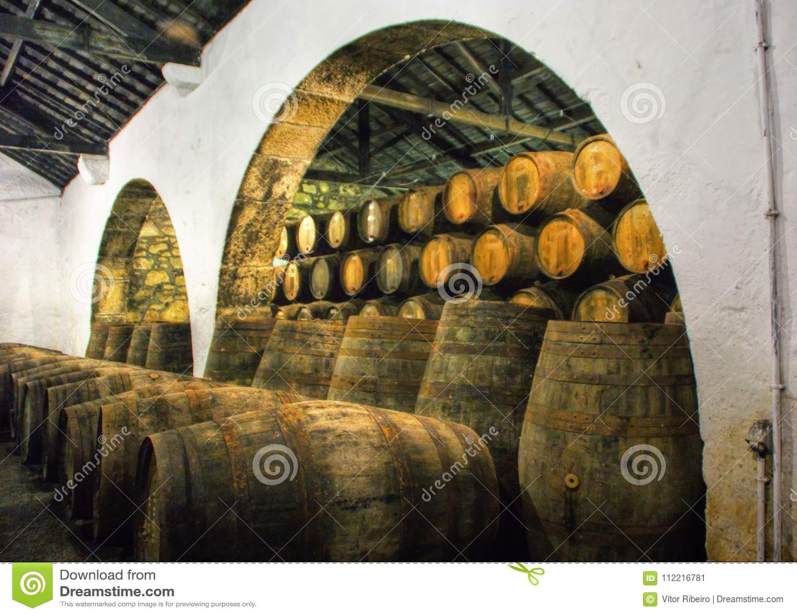 Port Wine Cellars in Vila Nova de Gaia