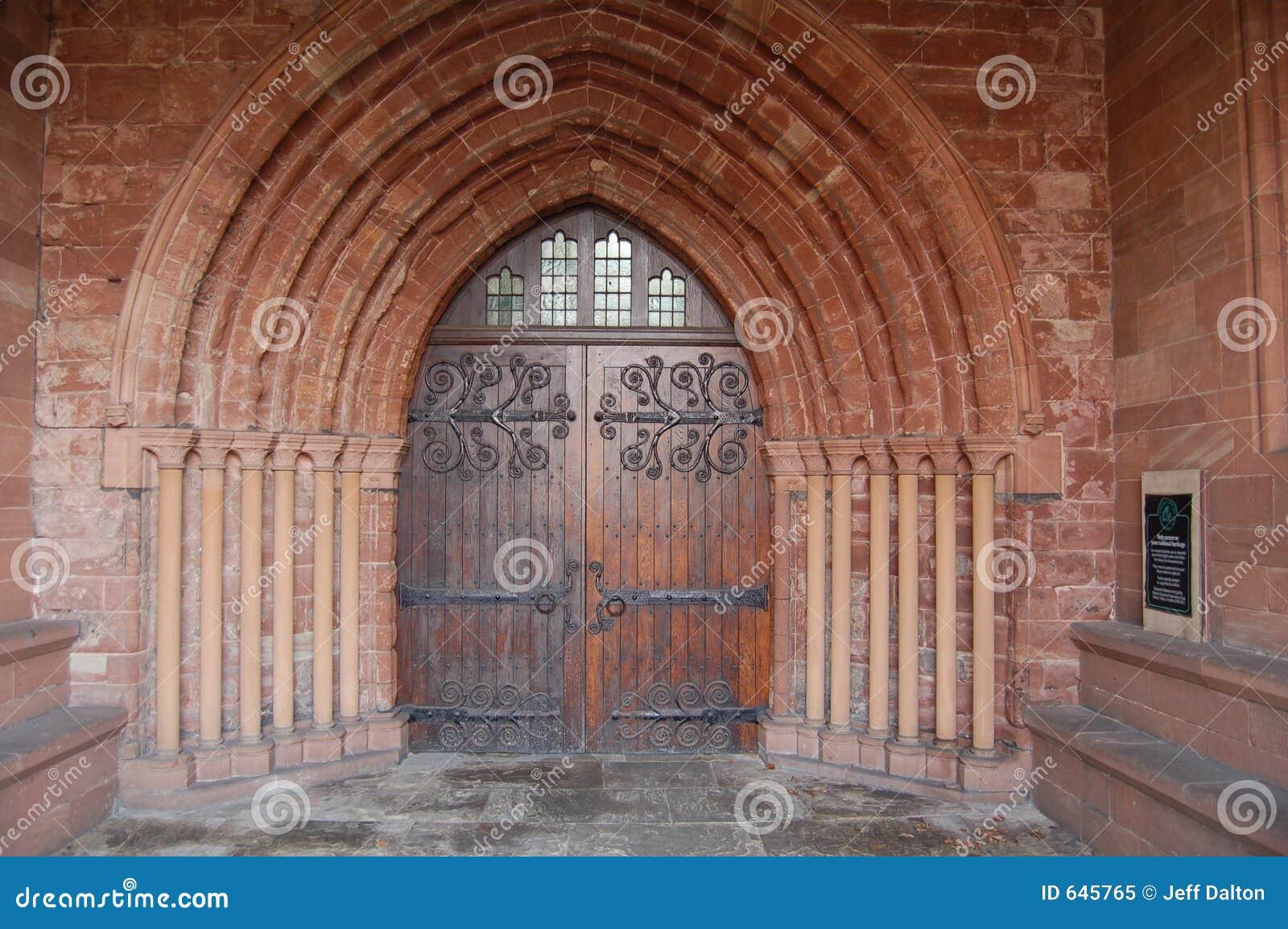 Porta Antiga Da Igreja Imagem De Stock Imagem De Religi 227 O