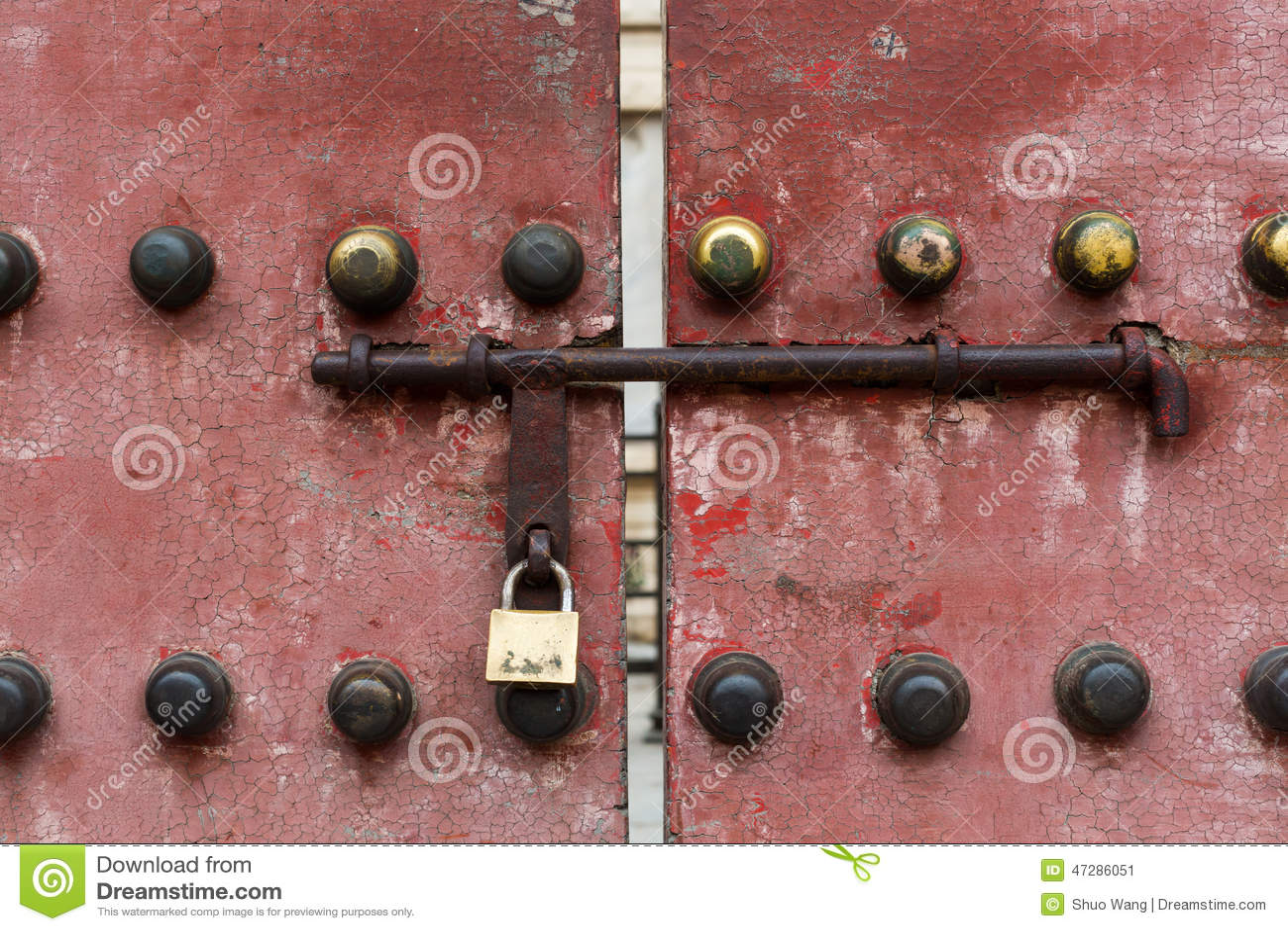 Porta chinesa velha